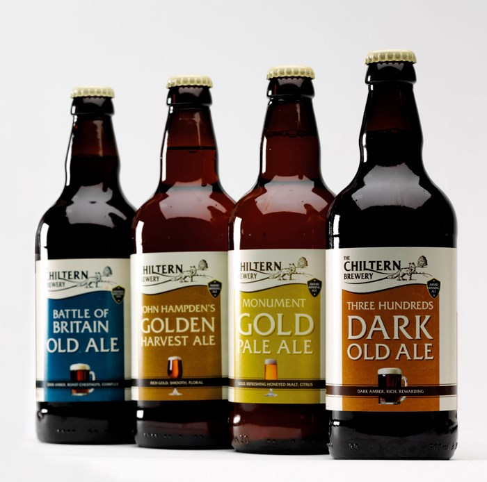 Chiltern Brewery gluten free