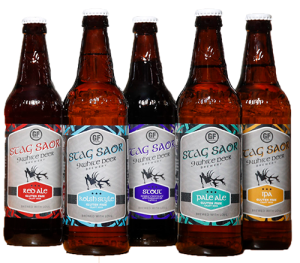 9 White Deer Brewery gluten reduced beer gluten free beer