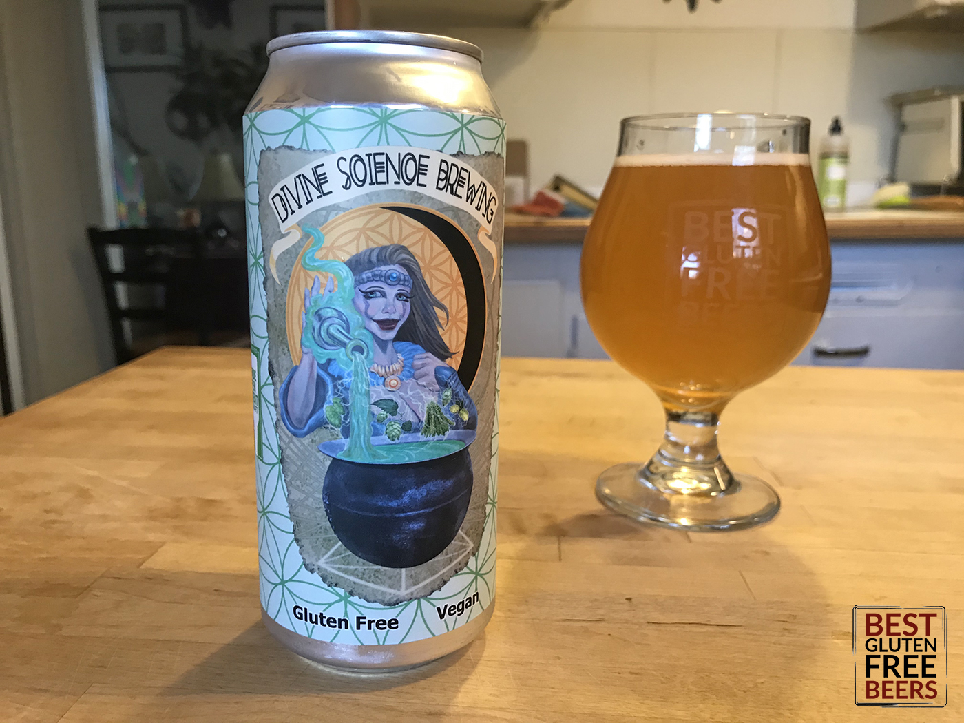 Divine Science Brewing Third Contact IPA gluten free beer