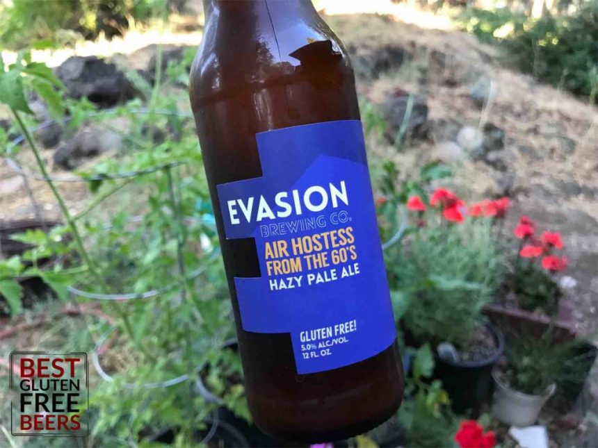 Evasion Brewing Air Hostess From The 60's gluten free
