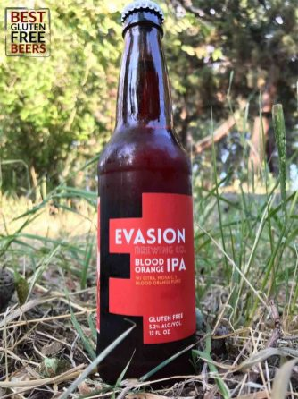 Evasion Brewing Blood Orange IPA beer review