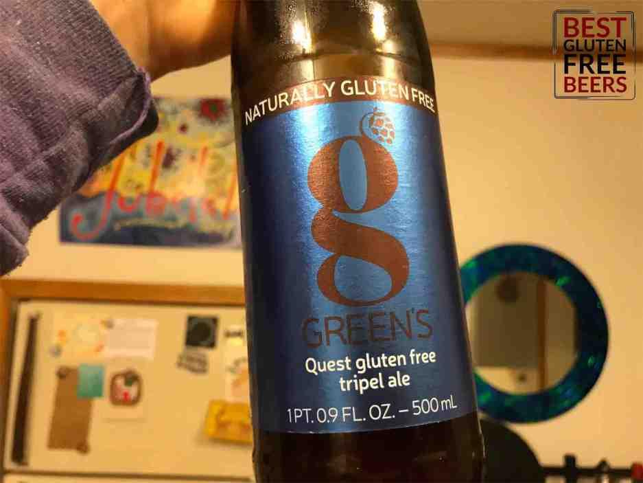 green's gluten free beer tripel ale