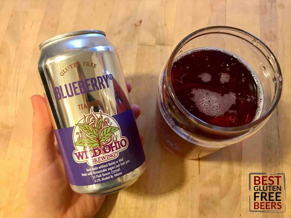 wild ohio brewing co blueberry tea beer