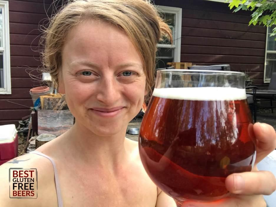 Lindsi Kay gluten free beer Moonshrimp Brewing