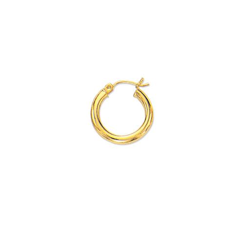 Tiny Children's Baby Hoop Earrings 14K Yellow Gold