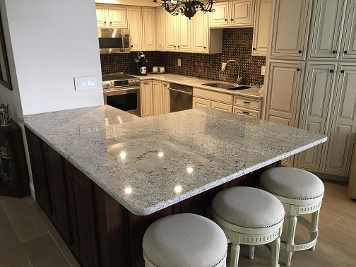 granite kitchen countertops pictures aid mixer deals best for less white sand 9 reizse 75