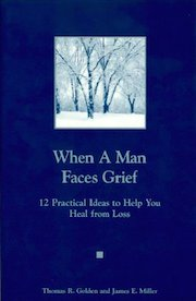 Man Faces Grief