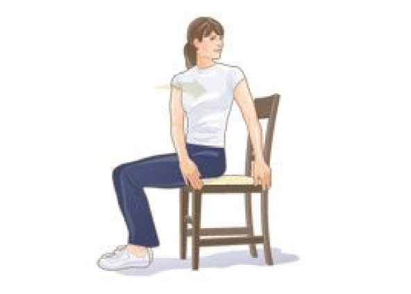 Image result for low back rotation stretch