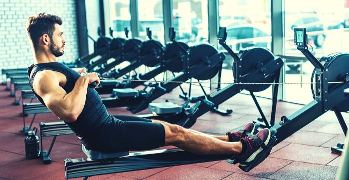 how long to use rowing machine