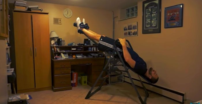 how to use an inversion table for herniated disc