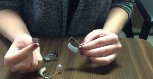 how to measure hearing aid domes