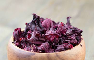 dried hibiscus tea