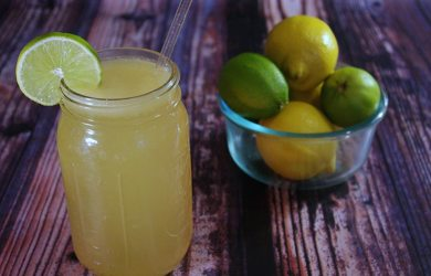 Homemade Electrolyte Drink Featured