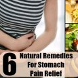 Stomach Pain Relief Home Remedies
