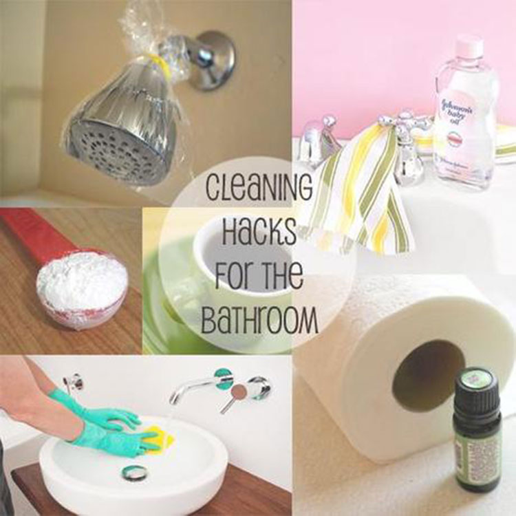 6 Smart And Time-Saving Bathroom Cleaning Hacks