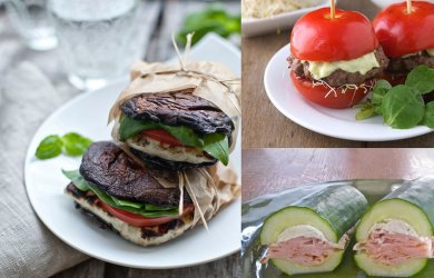 healthy sandwich recipes