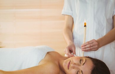 Clean Your Ears Naturally with Ear Candling