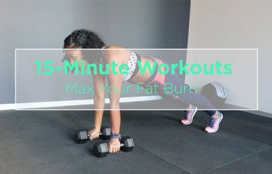 15-Minute Fat Burning Routine