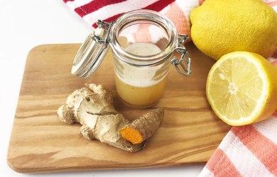 Homemade Ginger Shot Recipe