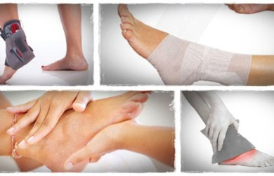 Treat Sprained Ankle Naturally