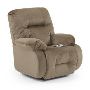 besthf com chairs tri fold beach lounge chair recliners | power brinley2 best home furnishings