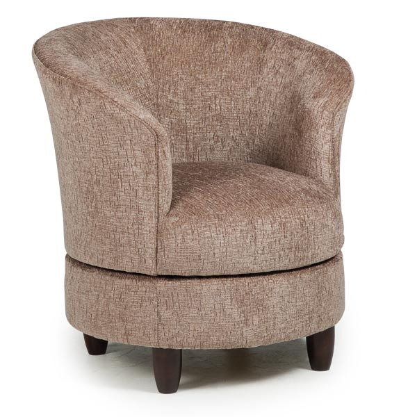 Chairs  Swivel Barrel  DYSIS  Best Home Furnishings