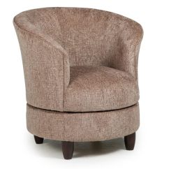 Besthf Com Chairs Green Accent Chair With Arms Club Swivel Barrel Large
