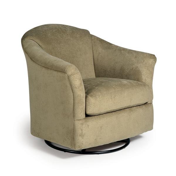 Chairs  Swivel Barrel  DARBY  Best Home Furnishings