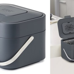 Kitchen Compost Container 60 40 Sink Top 5 Best Bins Small And Large Food Caddy Joseph Intelligent Waste