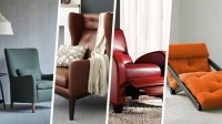 Different Types of Armchairs | High Back, Winged, Swivel ...