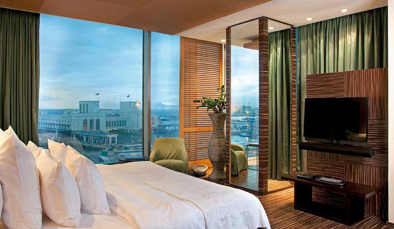 Romeo hotel naples italy luxury hotel design for Design hotel italia
