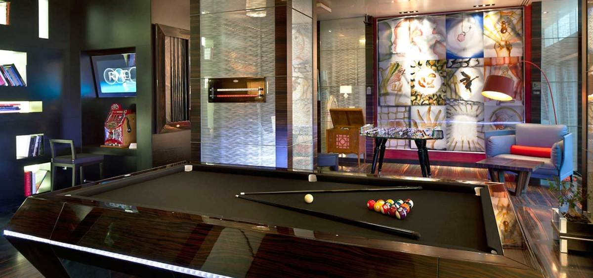 Romeo Hotel Naples, Italy : The Game lounge