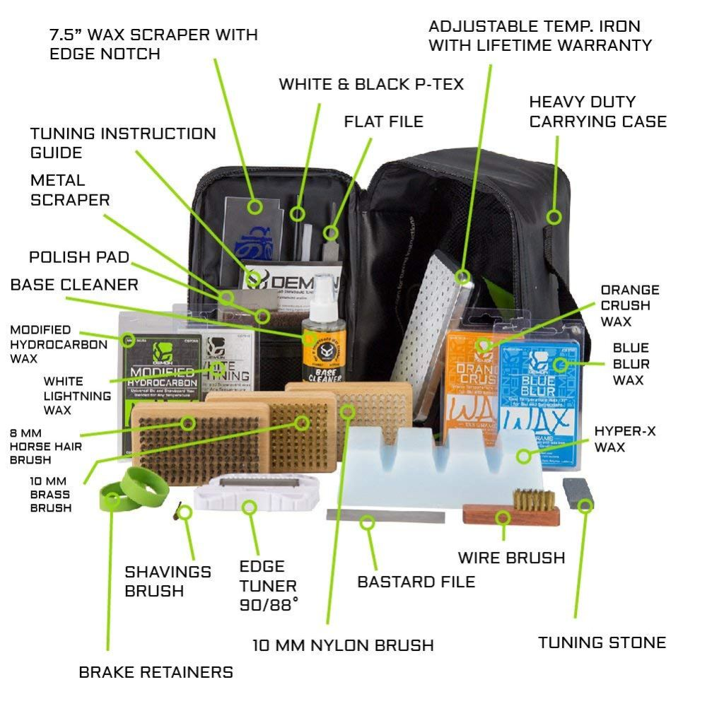 medium resolution of grayne ski and snowboard tuning and wax kit