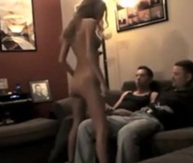 Amateur Threesome Mfm With Nice Striptease To Start