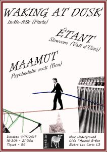 Waking at dusk; Étant; Maamut; Bestiar Netlabel; Bestiar Universal