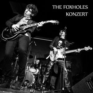 The Foxholes;Konzert;Bestiar Netlabel