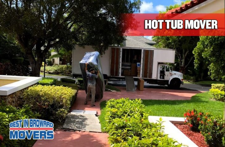 hot tub mover - best in broward mover
