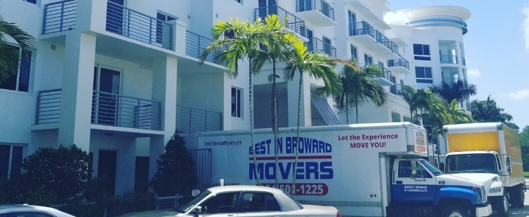 best in broward serving a client in their apartment