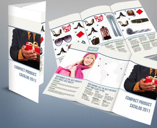 Compact product catalog