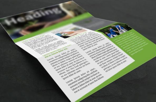 fresh non-profit newsletter closeup
