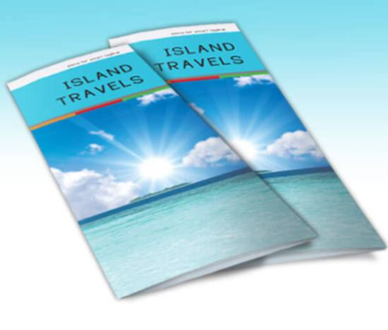 Island Travels tri-fold Stack Preview