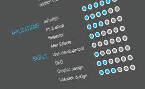 Portfolio Interactive Resume Closeup Preview