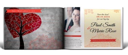 Wedding Photobook Inside Preview