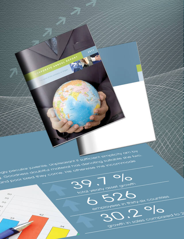 Free Annual Report Template in InDesign. Download 16 Sample Pages.