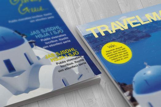 travel magazine cover corners