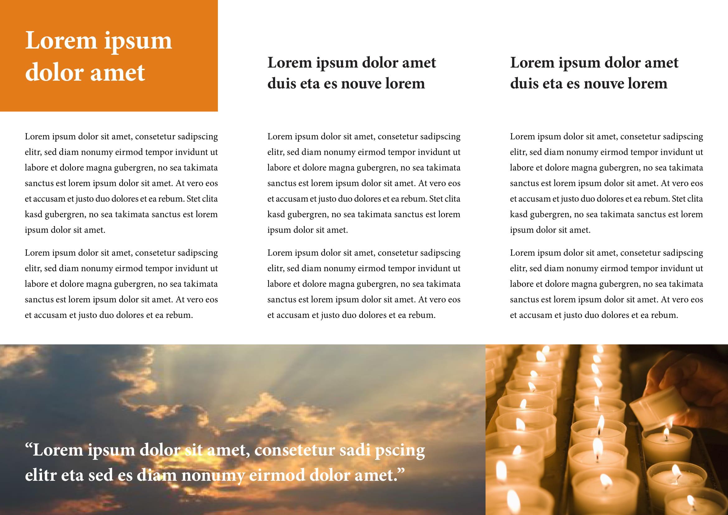 Microsoft Brochure Template Free Free Church Brochure Templates For