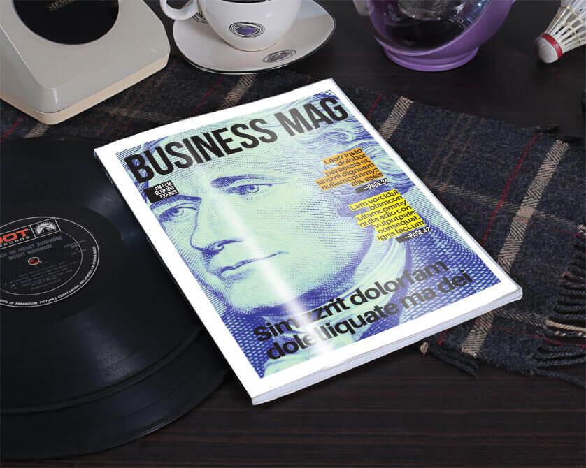 magazine article layout template
