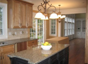 new construction home_kitchen_before staging
