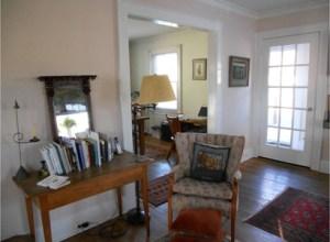older colonial in millburn_living room_before staging