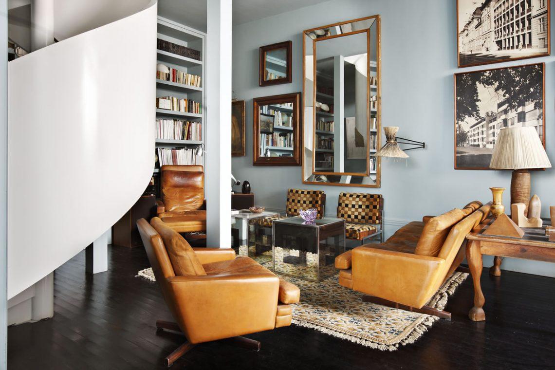 sofa article xv modern orange sectional sofas best-interiordesigners-lorenzo_castillo best ...
